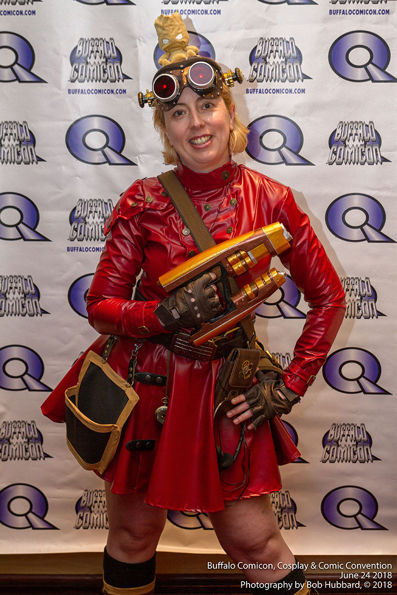 Steam Punk Star Lord at Buffalo Comicon June 2018