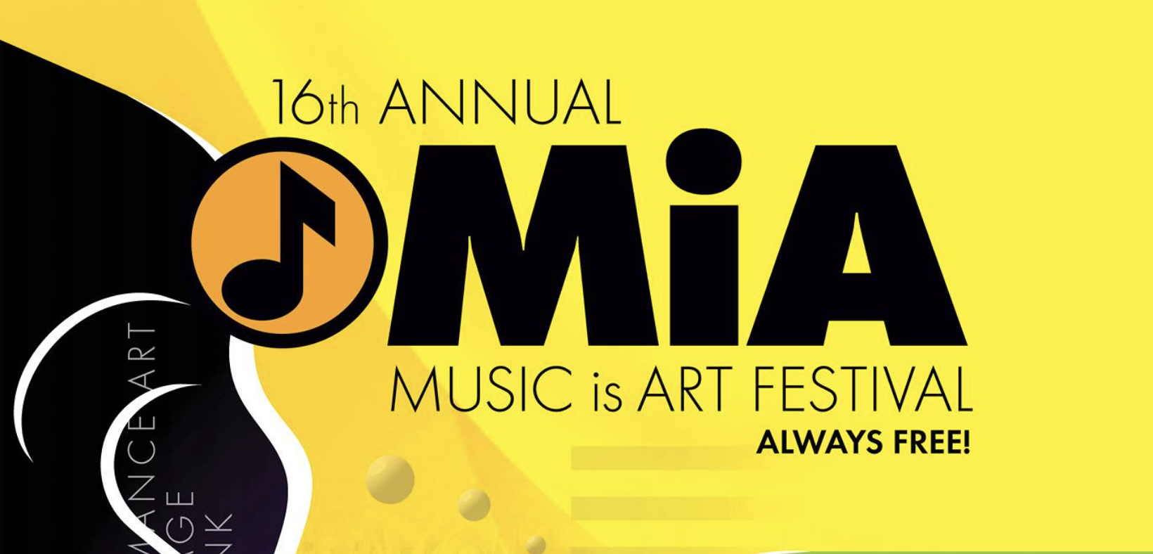 Upcoming Event - Music is Art Festival, Buffalo NY