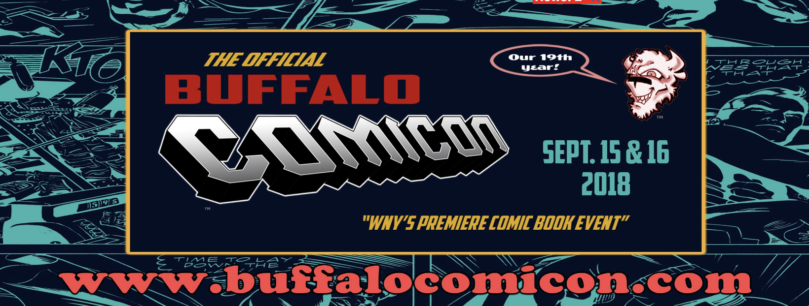 Upcoming Event - Buffalo Comicon, Buffalo NY