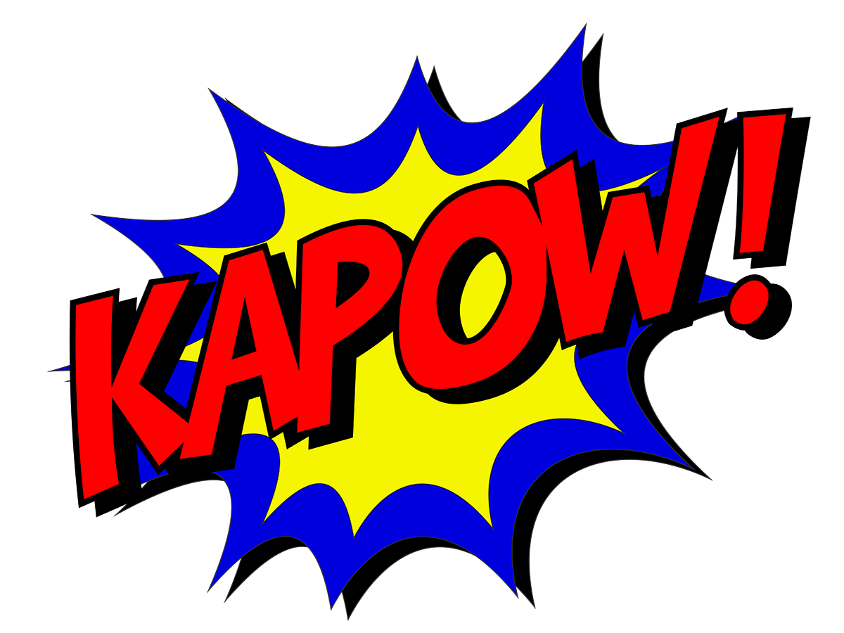 KAPOW! - superhero cosplay, Justice League of WNY.