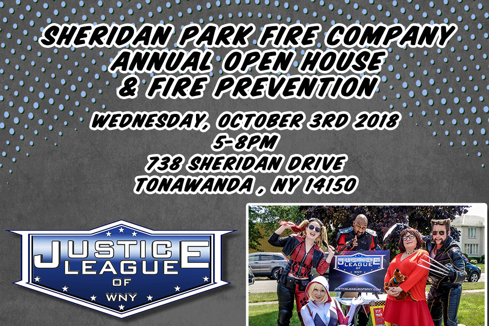 Upcoming Event - Sheridan Fire Company Annual Open House