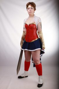 Steampunk Harley: Steampunk Wonder Woman