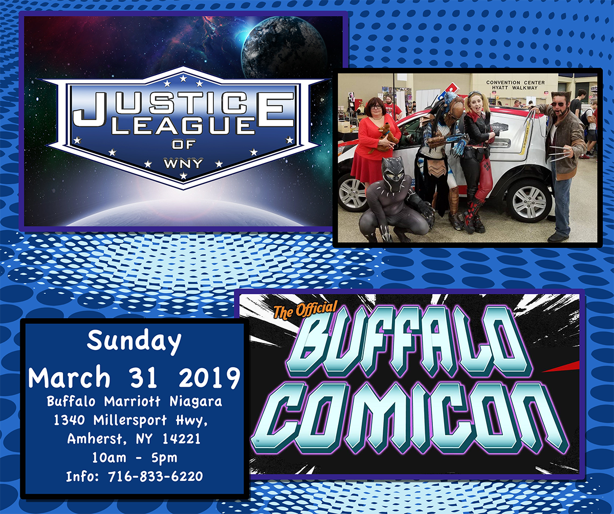 Buffalo Comicon Spring 2019