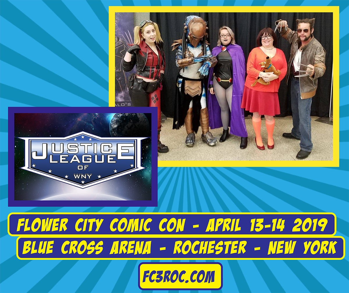 Flower City Comic Con 2019