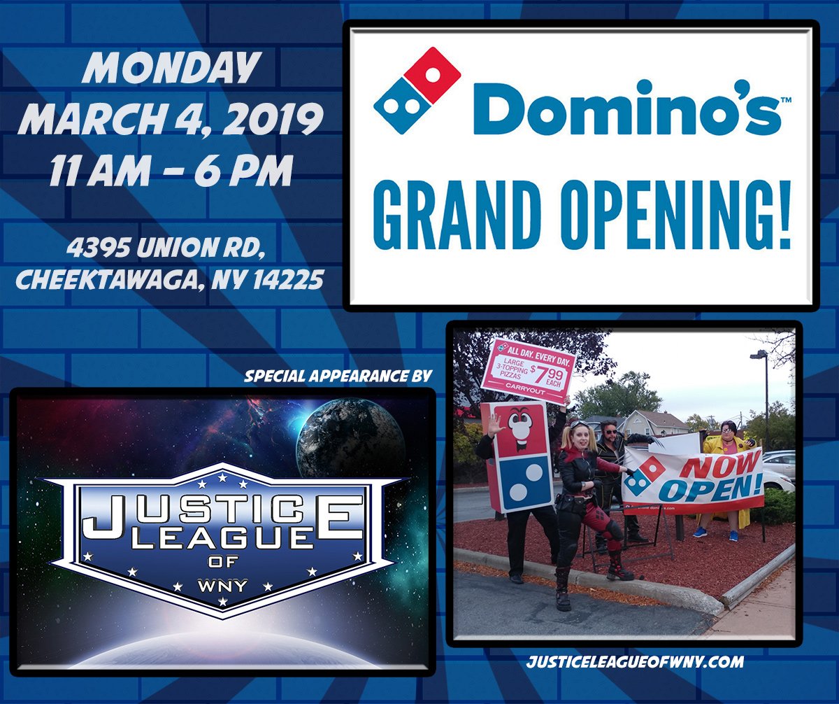 Grand Opening of the Cheektowaga Domino's