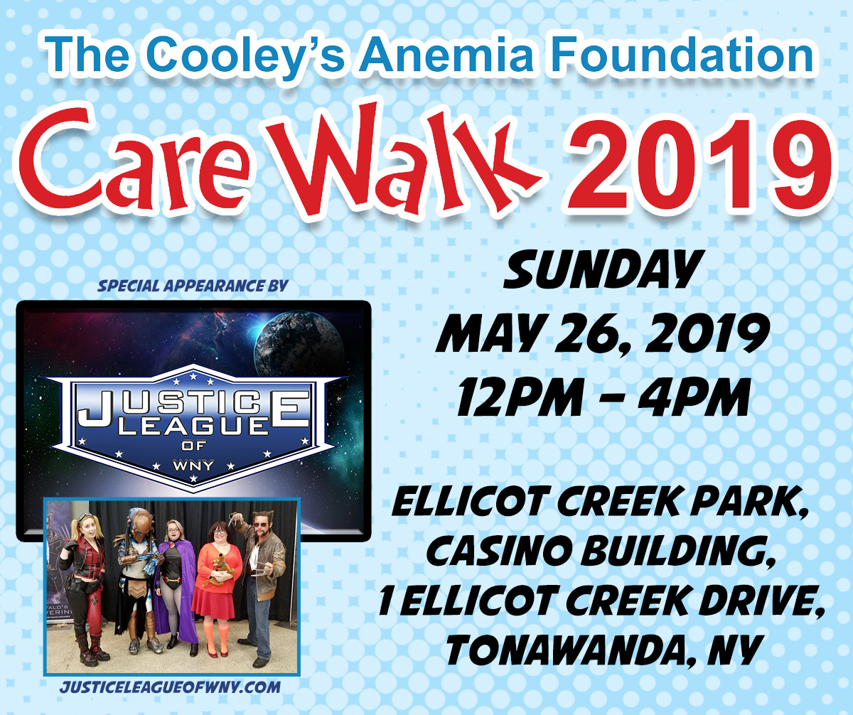 Care Walk for Cooley's Anemia Foundation