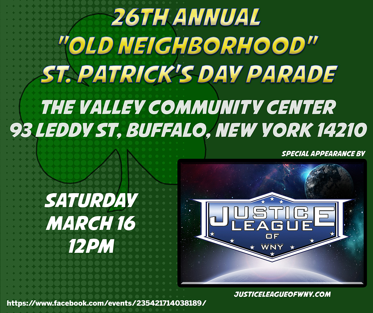 "26th Annual ""Old Neighborhood"" St. Patrick's Day Parade"