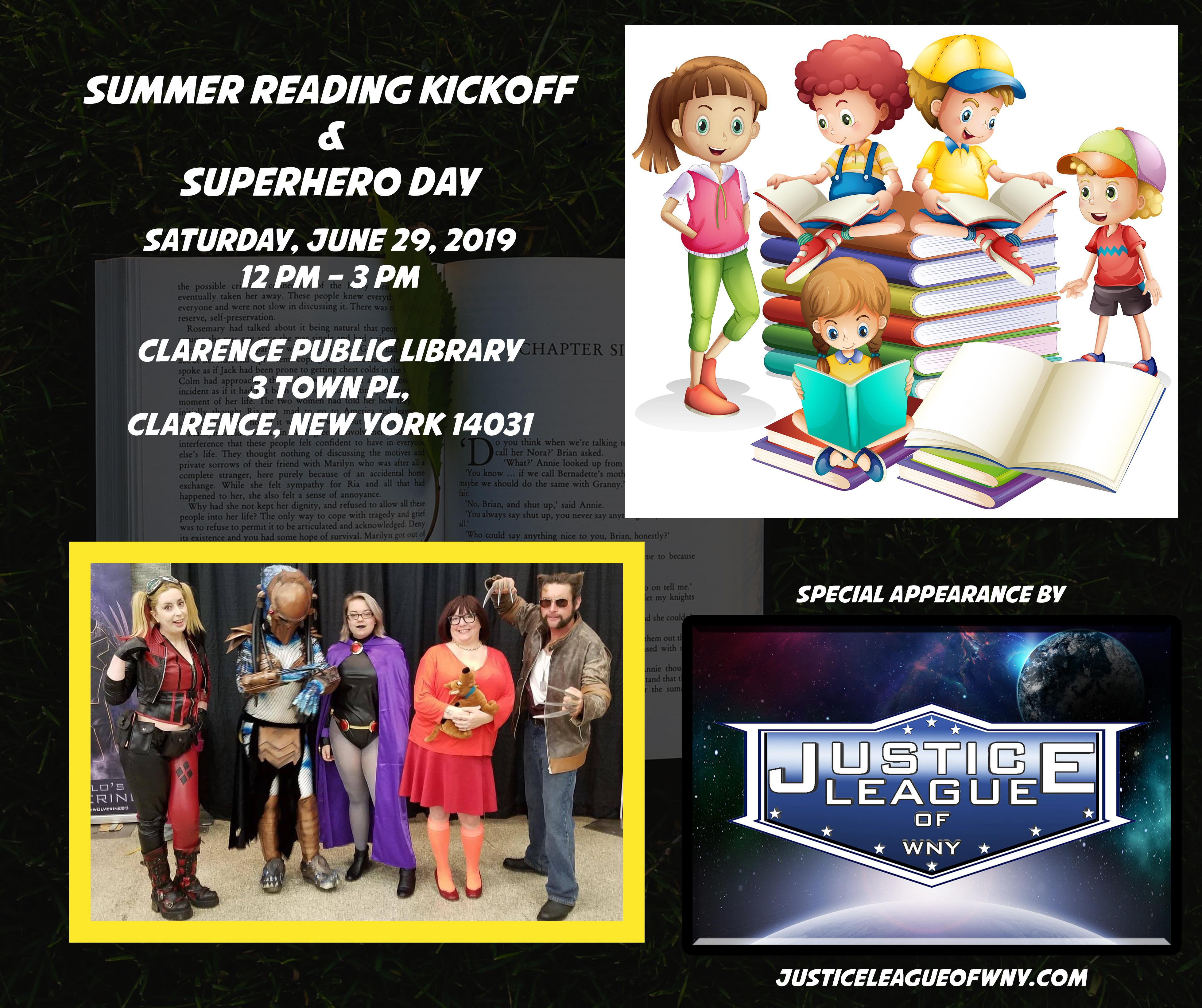 Summer Reading Kickoff / Superhero Day