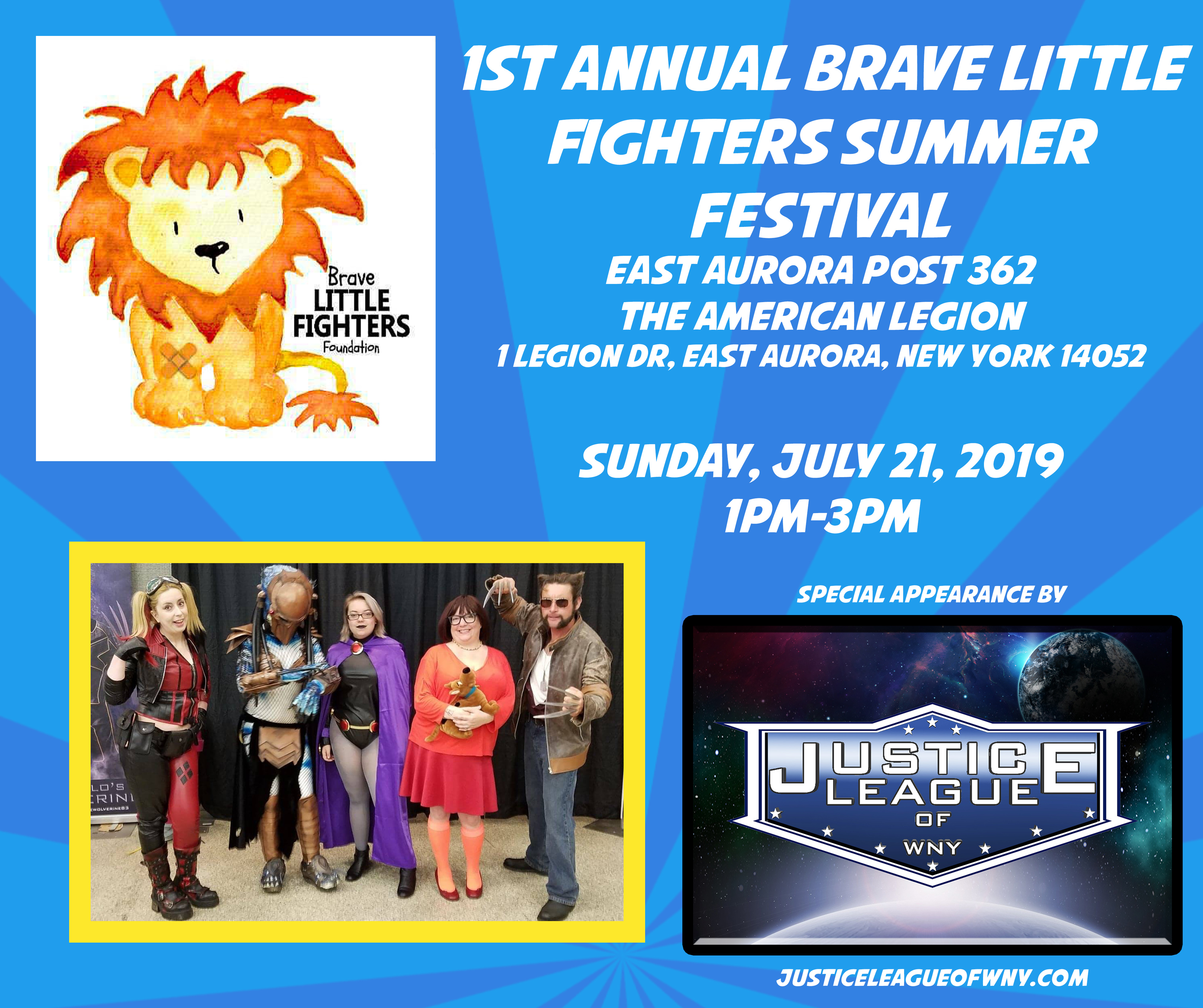 1st Annual Brave Fighters Summer Festival