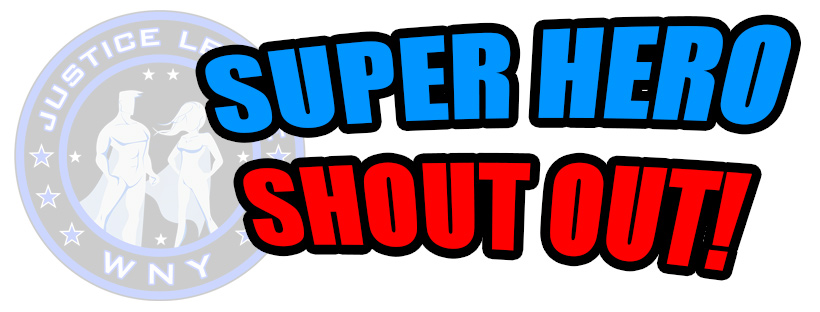 Superhero Shout Out